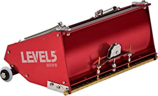 10-Inch MEGA Flat Box - LEVEL5 | Pro-Grade | High Capacity + Easy Clean | Drywall Sheetrock Gyprock Wallboard Finishing | 4-768