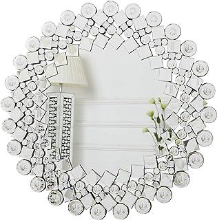 RICHTOP Sunburst Espejo de Pared con Mosaico enjoyado