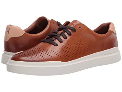 Cole Haan Grandpro Rally Laser Cut Sneaker (British Tan/Ivory) Men