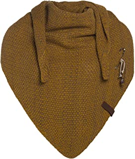 Knit Factory Coco - Pañuelo (190 x 85 cm), color marrón