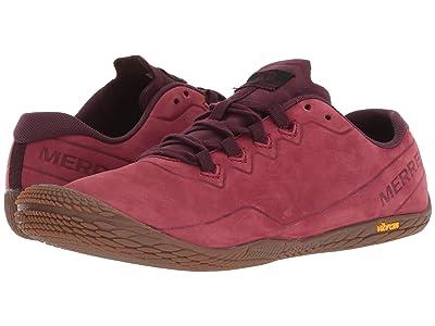Merrell Vapor Glove 3 Luna Leather (Pomegranate) Women