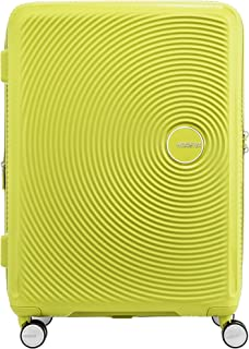 American Tourister 86229 Curio Hardside Spinner Suitcase, 69 Centimeter, Lime Punch