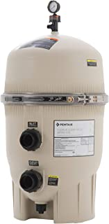 Pentair 160310 Clean & Clear Plus Fiberglass Reinforced Polypropylene Tank Cartridge Pool Filter, 240 Square Feet, 90 GPM (Residential)