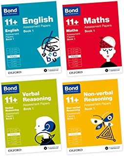 Bond 11+: English, Maths, Non-Verbal Reasoning, Verbal Reasoning: Assessment Papers: Bond 11+: English, Maths, Non-verbal Reasoning, Verbal Reasoning: Assessment Papers 9-10 years bundle