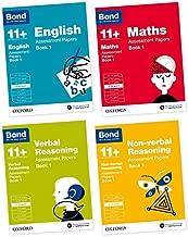 Bond 11+: English, Maths, Non-verbal Reasoning, Verbal Reasoning: Assessment Papers: 9-10 years Bundle