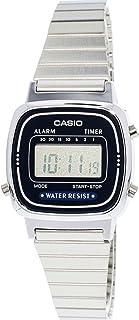 c99040a5d47 Relógio Feminino Digital Casio Vintage LA670WA2DF - Prata