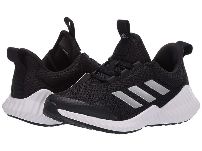 adidas Kids  FortaRun (Little Kid/Big Kid) (Black/Silver Metallic/White) Boys Shoes
