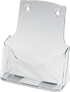 Porta-folletos de sobremesa acrylic, con 1 compartimento, Material acrílico, para A5, 1 unds.