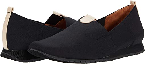 Black/Cuoio Elastic/Leather