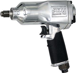SK11 エアインパクトレンチ 差込角 アンビル12.7mm角 (1/2sq) SIW-1300S ブラック