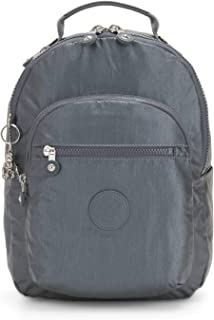 "Kipling Seoul Small 11"" Laptop Metallic Backpack"
