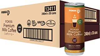 POKKA Milk Coffee, 240 ml (Pack of 30)