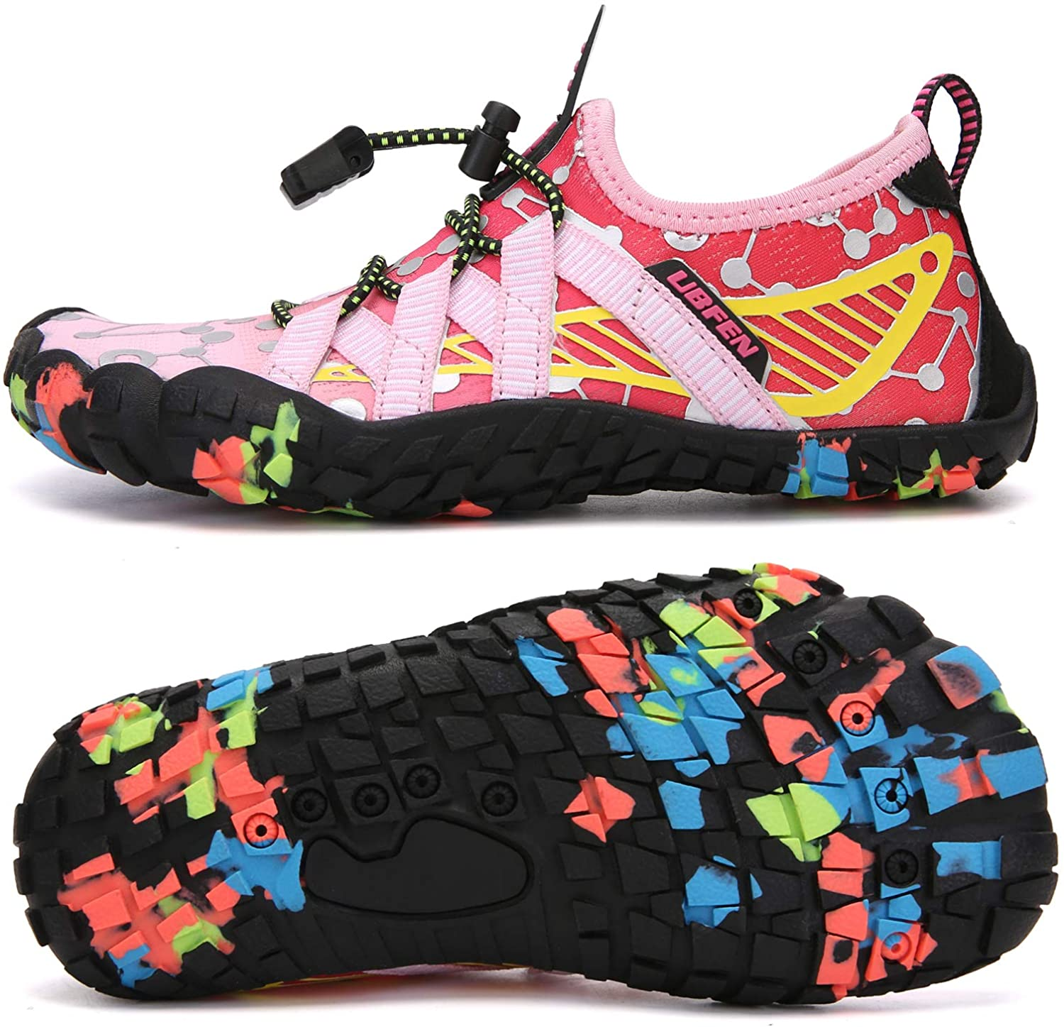 Direct store UBFEN Water Shoes Max 72% OFF for Kids Boys Aqua Beach Socks Girls Barefoot