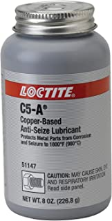 Loctite 51147 C5-A Copper Based Anti-Seize, -30 to 1800 degrees F Temperature Range, 8 oz