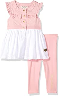 Juicy Couture Baby Girls 2 Pieces Tunic Sets