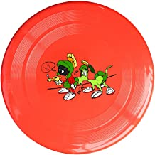 AOLM Martian And Rabbit Outdoor Game Frisbee Sport Disc Yellow