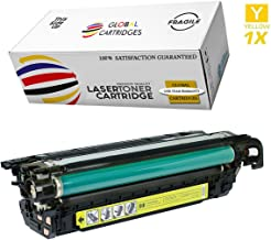 GLB Premium Quality Remanufactured Replacement for HP 648A Yellow CE262A Toner Cartridge For HP Color LaserJet CP4520, CP4025, CP4025N, CP4025DN, CP4525N, CP4525DN, CP4525XH