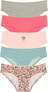 Set of Women's Hipster Colorful Lingerie Underwear