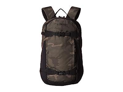 Burton Dayhiker 25L (Worn Camo Print) Day Pack Bags