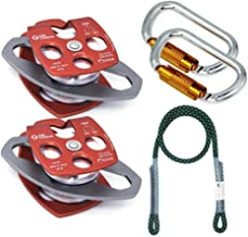 GM CLIMBING Hardware Kit for 5:1 Mechanical Advantage Pulley/Hauling/Dragging System Block and Tackle