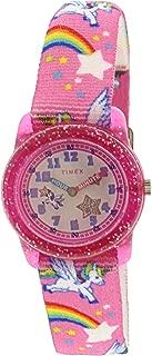 Girl's Unicorn TW7C25500 Pink Nylon Japanese Quartz...