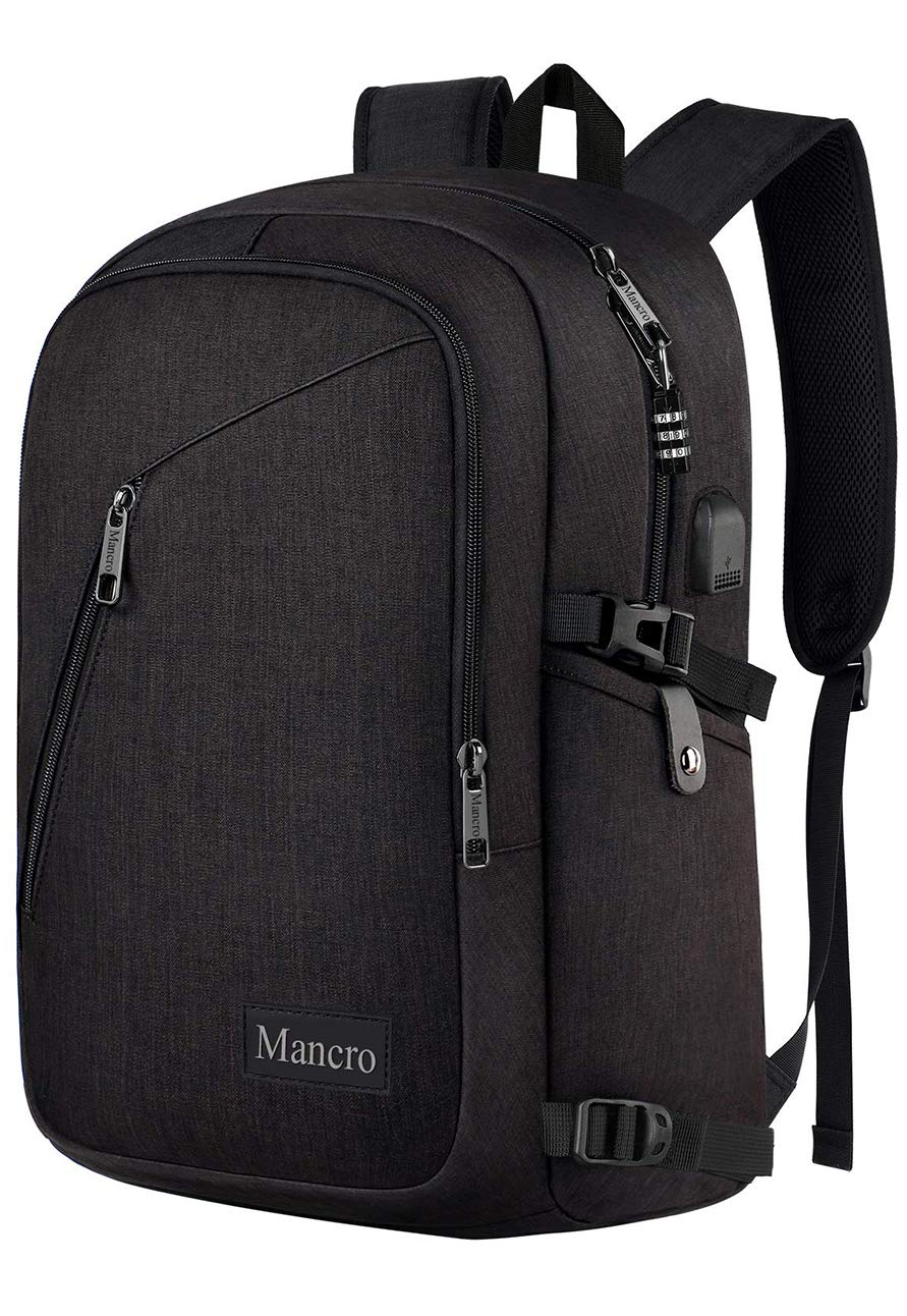 Business Backpack Charging Computer Mancro