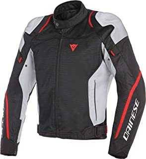 Dainese Air Master Mens Textile Jacket Black/Glacier Gray/Fluo Red 60 Euro/50 USA