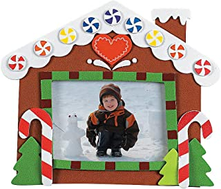 christmas picture frame craft kits