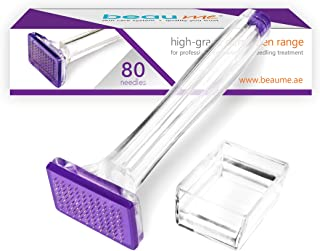BEAUME® Dermapen with 80 needles (0,50-1,50mm) • the Original • certified in Germany • alternative to Dermaroller (1,00mm)