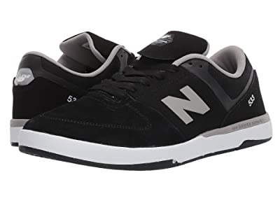 New Balance Numeric NM533 (Black/Grey) Men