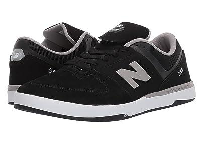 New Balance Numeric NM533 (Black/Grey) Men