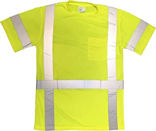 Speedyweb ANSI Class 3 High Visibility Reflective Safety T-Shirt …