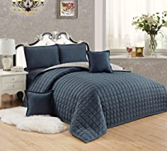Compressed Two-Sided Color 6 Piece Comforter Set, King Size