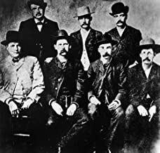 Dodge City CommissionNthe Dodge City Peace Commission Seven Gunfighters Seated Left To Righ Charlie Bassett Wyatt Earp Frank Mclain And Neal Brown Standing Left To Right WH Harris Luke Short And Bat M