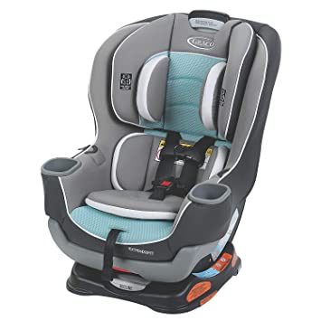 Graco Extend2Fit Convertible Car Seat, Ride Rear Facing Longer with Extend2Fit, Spire: image