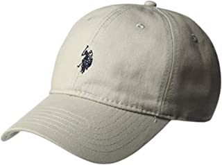 Men's U.s. Polo Assn. Pony Logo Baseball Hat, 100% Cotton, Adjustable Cap