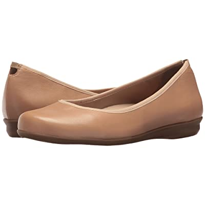 Earth Ennis Earthies (Nude Premium Leather) Women