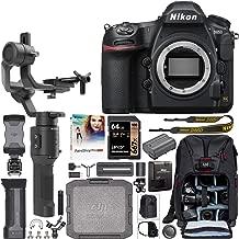 Nikon D850 FX-Format Full Frame DSLR 4K Camera Body 1585 Filmmaker's Kit with DJI Ronin-SC 3-Axis Handheld Gimbal Stabilizer Bundle + Deco Photo Backpack Case + 64GB Card + Software