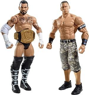 WWE CM Punk and John Cena Figure 2-Pack Series 17