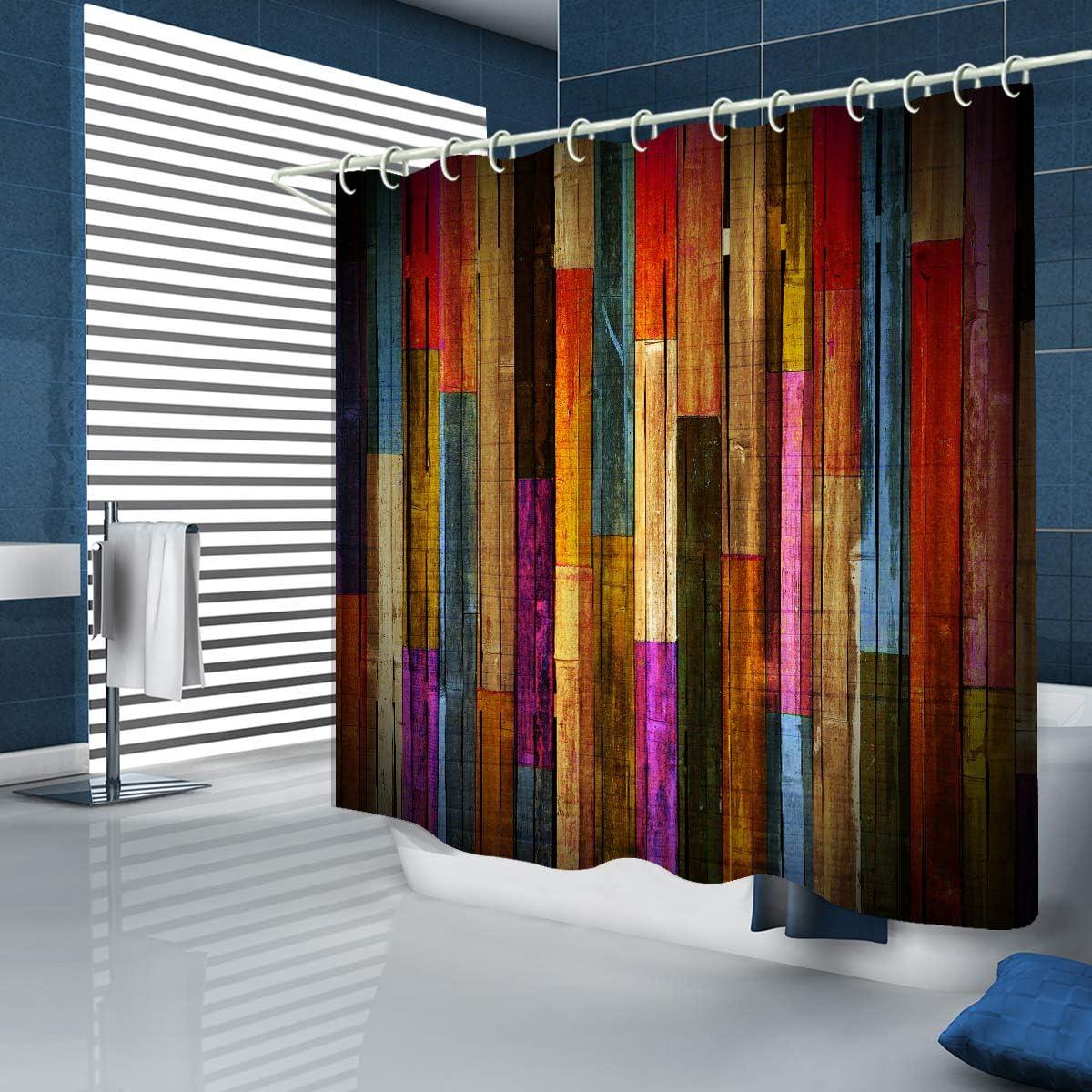 Shower Popular Baltimore Mall standard Curtain Waterproof Polyester for Fabric Bathroom Bathtub