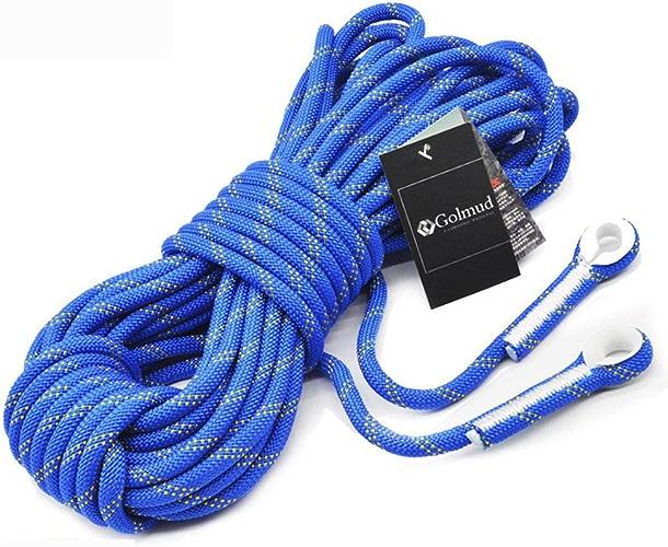 LINLIM Tension De Corde S'élevante 1000kg Corde De Sauvetage en Polypropylène Extérieure Lifeline équipement d'escalade Corde d'usure De Corde Haute Sécurité Corde De Sécurité 10mm30m