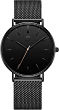 π pi Circulus - Stainless Steel Mesh Strap - Modern, Minimalist & Luxury Men's Watch