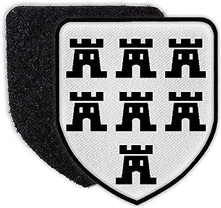Copytec Patch Siebenbürgen Wappen Siebenbürger Sachsen Transsilvanien Rumänien #35117
