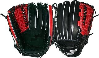 SSK Baseball Ssk Edge Pro Grid Net Edge Pro, Black/Red, 12