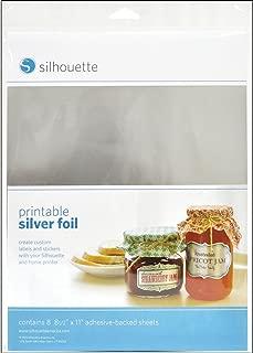 Silhouette Media-SVR-ADH Printable Silver Foil