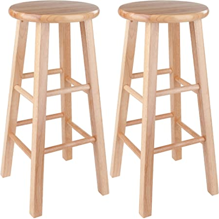 """Winsome Pacey Stool, 29"""", Natural"""