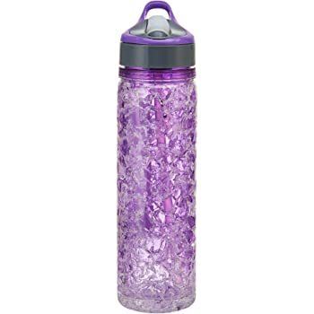Slant Collections Flawless Water Bottle with Diamond Lid 20 oz.