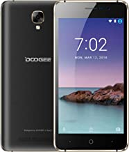 SIM Free Mobile Phones, DOOGEE X10S Dual SIM Free Unlocked Phone, 3G Android GO Smartphones (5.0 inch IPS Screen, 5MP Rear Cameras, MT6580A 1.3GHz - 8GB ROM, 3360mAh Battery)-Black