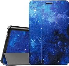 Fintie SlimShell Funda para Huawei Mediapad T3 8.0 - Súper Delgada y Ligera Carcasa con Función de Soporte para Huawei Mediapad T3 8 Tablet 8 Pulgadas IPS HD, Cielo Estrellado