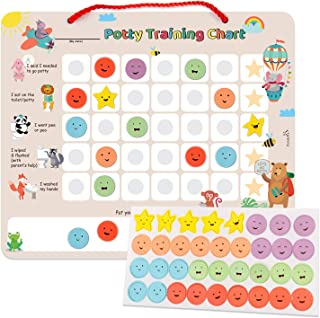 magnetic potty training reward chart